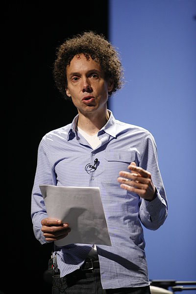 Malcolm Gladwell author of The Outliers