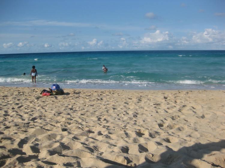 Beach in Havanna Cuba