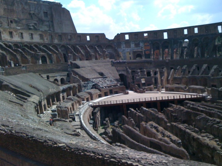 Inside the Coliseum
