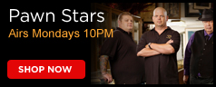 Logo from the History Channel's Pawn Star
