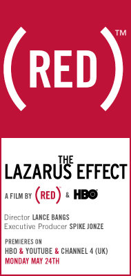 (RED) poster for The Lazarus Effect
