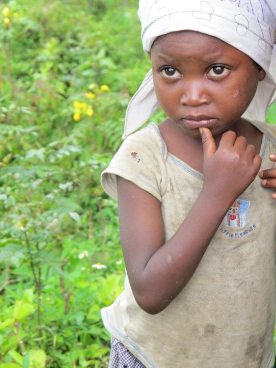 Haitian Mountain Girl