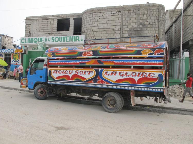 Haiti Tap-Tap