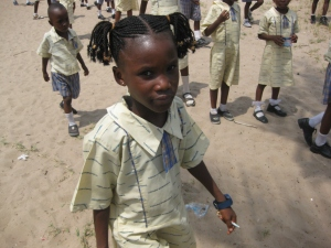 An African child in Nigeria