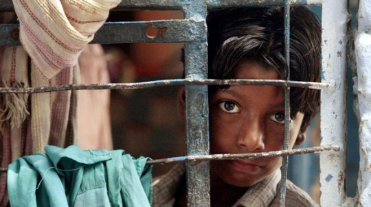 Picture of an India Street Kid