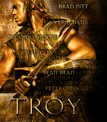 Brad Pitt in the movie Troy